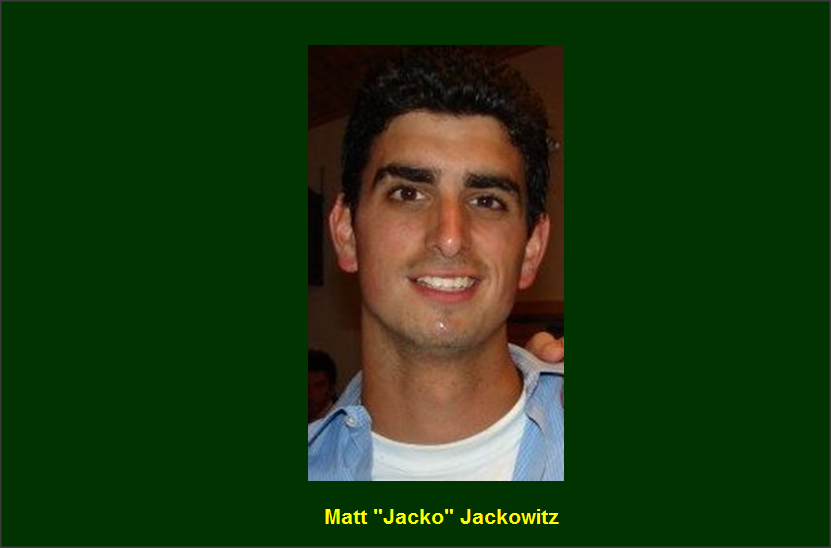 "Matt ""Jacko"" Jackowitz Camp Echo Lake Program Director"