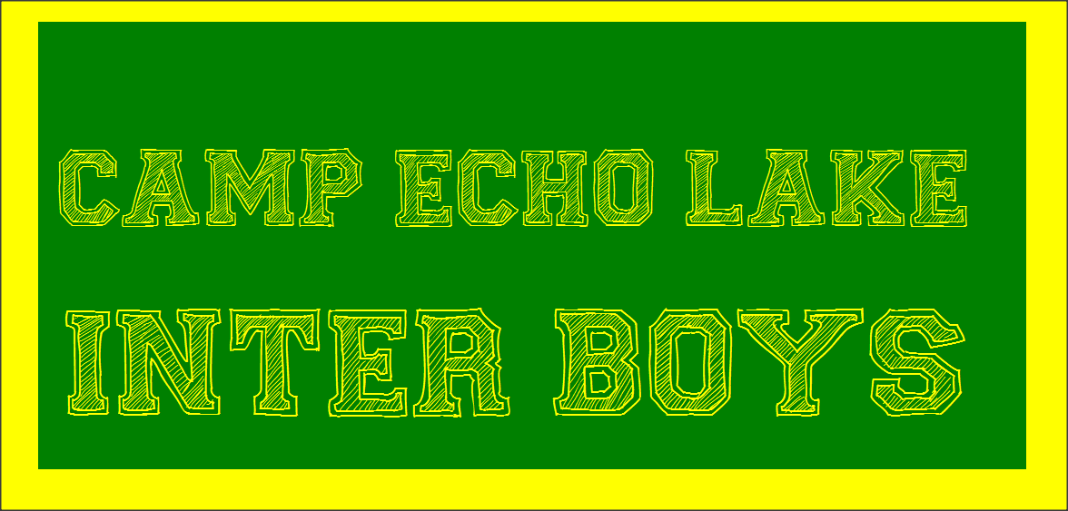 Camp Echo Lake Inter Boys