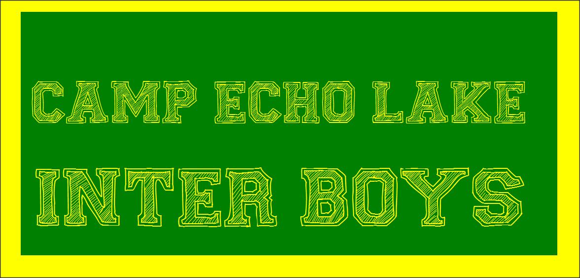 Camp Echo Lake Inter Boys