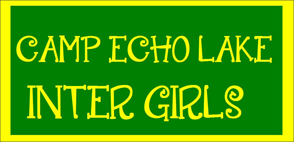 Camp Echo Lake Inter Girls