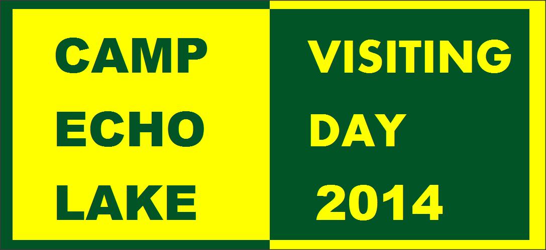 Camp Echo Lake Visiting Day 2014