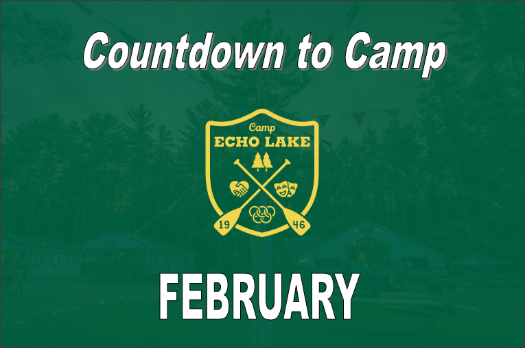 Countdown to Camp - FEBRUARY