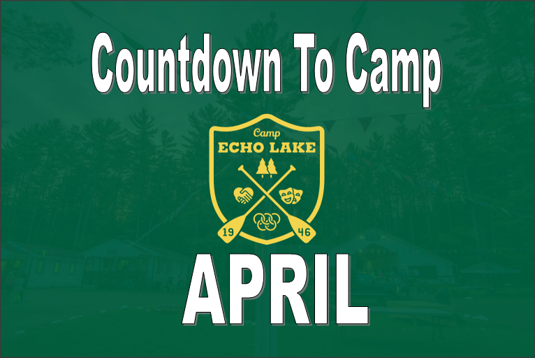 Countdown To Camp - APRIL