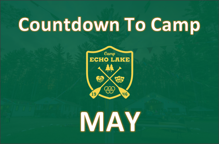 Countdown To Camp - May