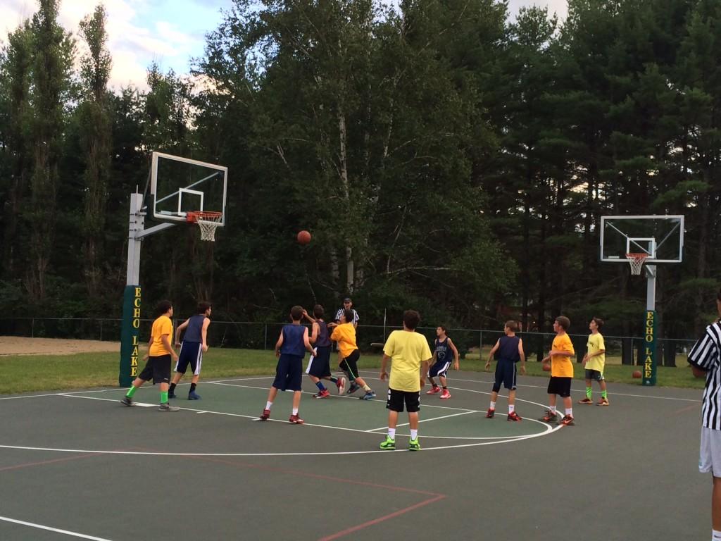 Camp Echo Lake vs Baco Inter-Camp Basketball